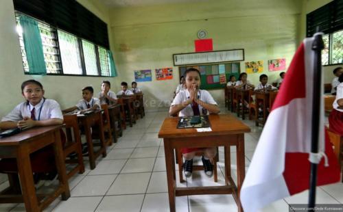 Ilustrasi sekolah. (Foto: Dede Kurniawan/Okezone)