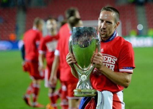 Franck Ribery saat masih di Bayern Munich