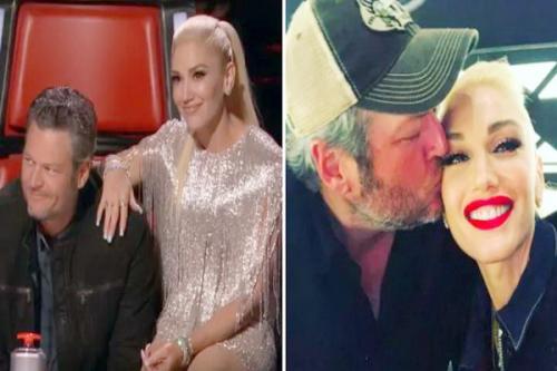 Blake Shelton dan Gwen Stefani