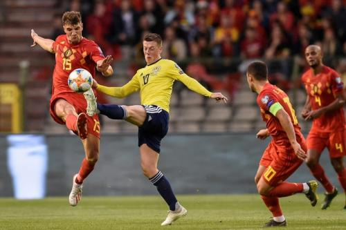 Belgia vs Skotlandia