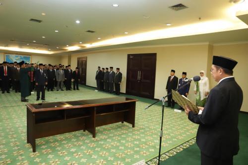 Pelantikan Rektor Universitas Islam Internasional