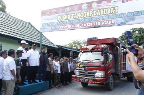 Posko tanggap darurat di Sulawesi Tenggara