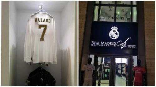 Eden Hazard sempat dirumorkan memakai nomor punggung tujuh