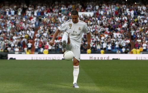 Eden Hazard bergabung ke Real Madrid