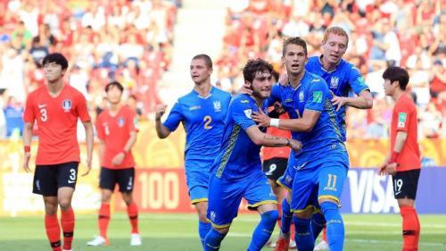 Ukraina vs Korsel di Piala Dunia U-20 2019