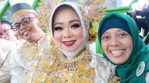 viral pria di gowa nikahi kekasihnya dengan mahar surah ar-rahman. (instagram)