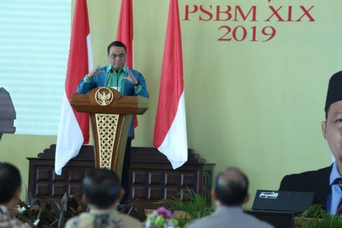 Pertemuan pengusaha yang tergabung dalam Saudaggar Bugis Makassar