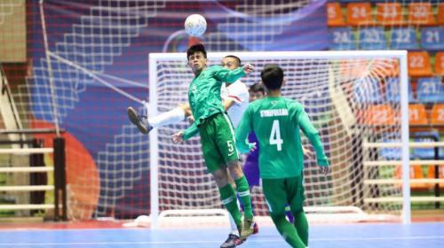 Timnas Futsal Indonesia saat kalahkan Taiwan 6-3
