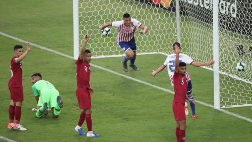Laga Timnas Paraguay vs Qatar