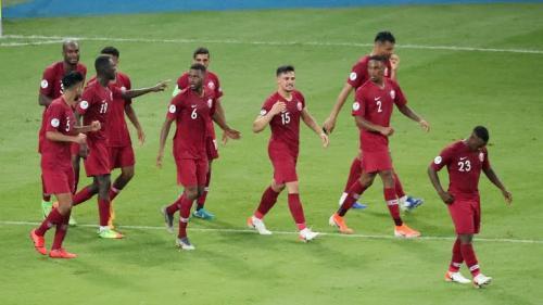Skuad Timnas Qatar yang turun di kompetisi Copa America 2019