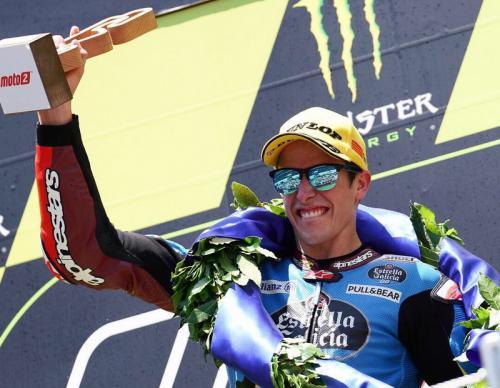 Alex Marquez meraih kemenangan di Moto2 GP Catalunya