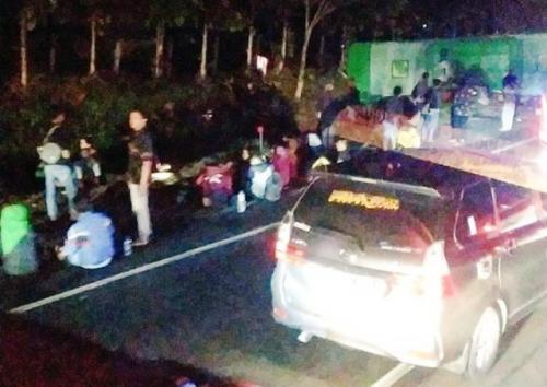 Kecelakaan Maut yang Menewaskan 12 Orang di Tol Cipali (foto: Ist)