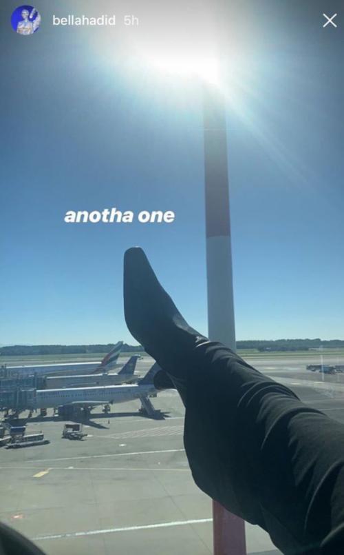 Bella Hadid dikritik publik setelah dinilai bersikap rasis dalam unggahannya di media sosial. (Foto: Instagram)