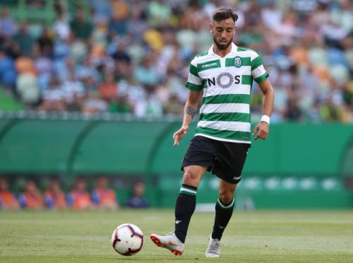 Aksi Bruno Fernandes di Sporting Lisbon