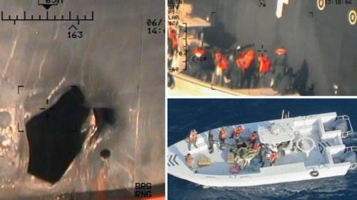 Amerika Tambah pasukan di Teluk Oman (BBC)