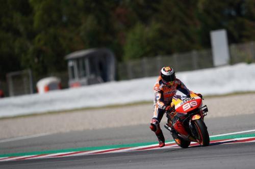 Jorge Lorenzo tes MotoGP Catalunya 2019 (Foto: Laman resmi Honda Racing Corporation)