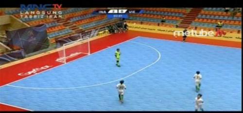Timnas Futsal Indonesia U-20 vs Vietnam