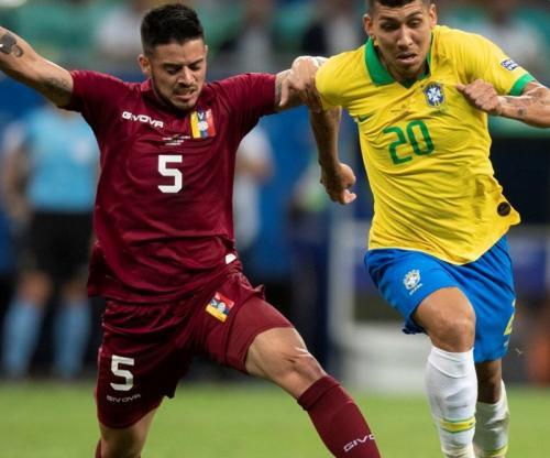 Timnas Brasil vs Venezuela (Foto: CBF Futebol/Twitter)