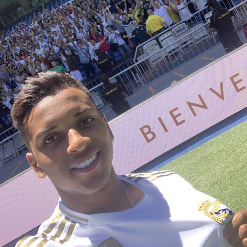 Rodrygo Goes (Foto: Twitter Madrid)