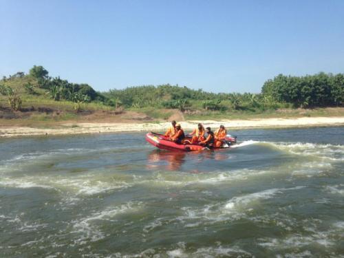 Kelelahan Berenang, Samsul Tewas Tenggelam di Bengawan Solo (foto: Basarnas Pos Jepara)