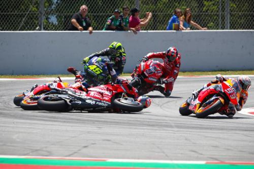 Insiden MotoGP Catalunya 2019
