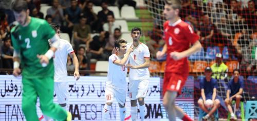 Iran kalah 4-8 dari Jepang