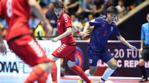 Afghanistan saat menang 3-2 atas Thailand