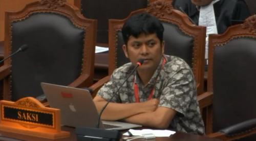 Caleg PBB Haerul Anas jadi saksi Prabowo-Sandi