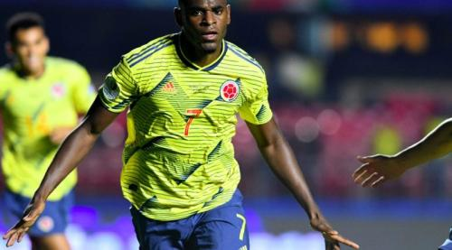 Duvan Zapata tampil sebagai pahlawan Timnas Kolombia (Foto: Laman resmi Federasi Sepakbola Kolombia)