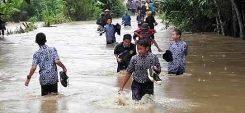 Banjir Morowali Utara