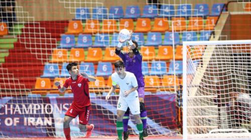 indonesia saat bersua Afghanistan di semifinal Piala Asia Futsal U-20 2019