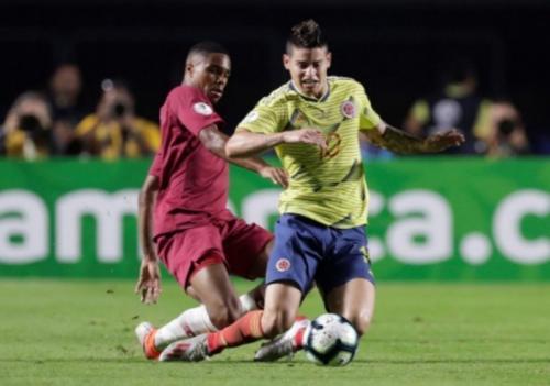James Rodriguez saat berlaga di Copa America 2019