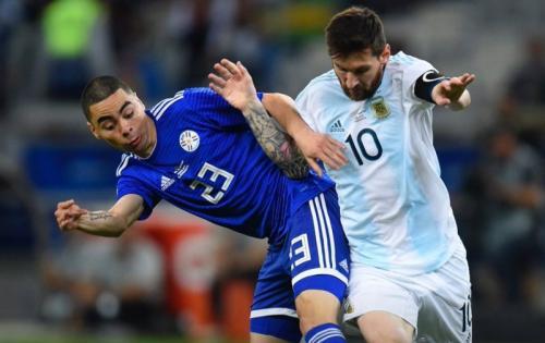 Lionel Messi saat berlaga di Copa America 2019