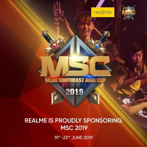 Realme dukung Onic Esport dalam Mobile Legend MSC 2019