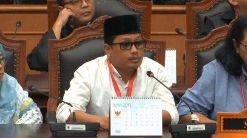 Saksi Kubu Prabowo Rahmadsyah