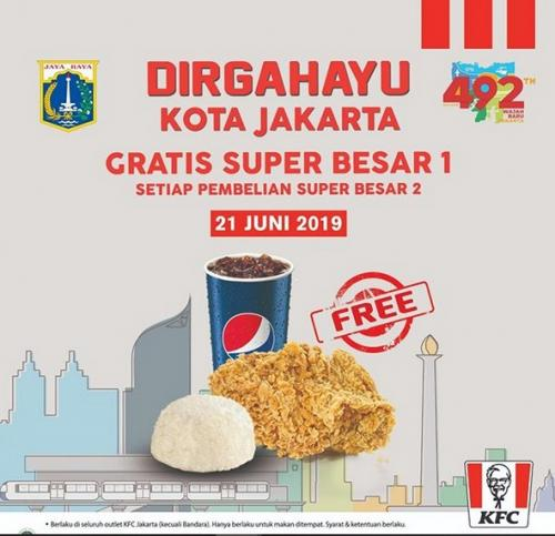 Promo HUT Jakarta