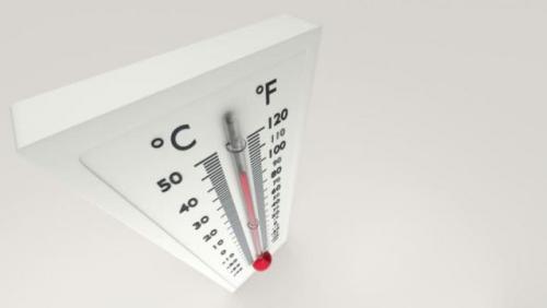 Ilustrasi termometer pengukur udara dingin. (Foto: Shutterstock)