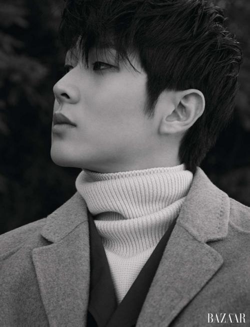 Choi Woo Shik. (Foto: Harper's Bazaar)