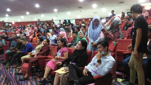 keramaian Audisi KDI di Makassar