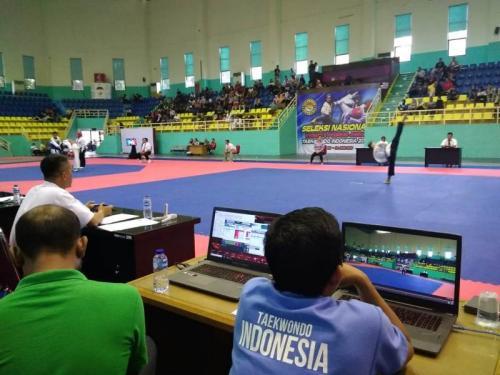 Seleksi Nasional 64 atlet Taekwondo Junior Indonesia (Foto: PBTI)