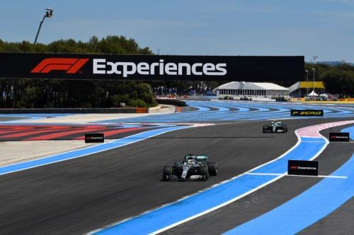 Lewis Hamilton finis 18 detik di depan Valtteri Bottas (Foto: Mercedes AMG Petronas/Twitter)