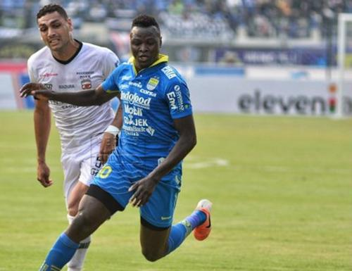 Persib menghadapi Madura United di lanjutan Liga 1 2019