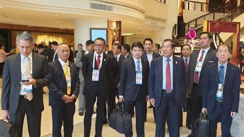 Gubernur Sulsel Nurdin Abdullah Dampingi Presiden Jokowi di KTT ASEAN Thailand. (ist)