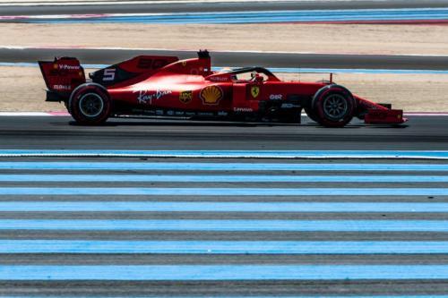 Sebastian Vettel di F1 GP Prancis 2019 (Foto: Laman resmi Scuderia Ferrari)