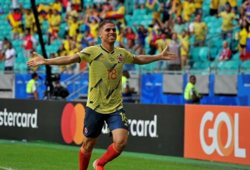 Para pemain Timnas Kolombia