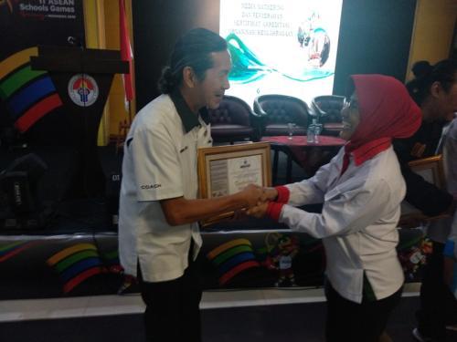 PB POBSI terima sertifikat dari BSANK