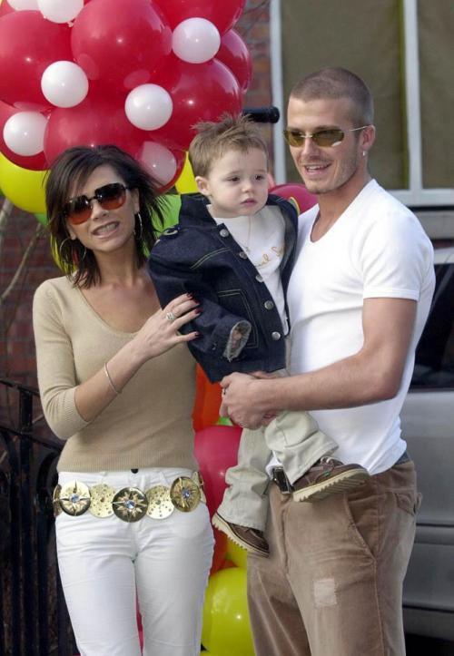 David Beckham botak