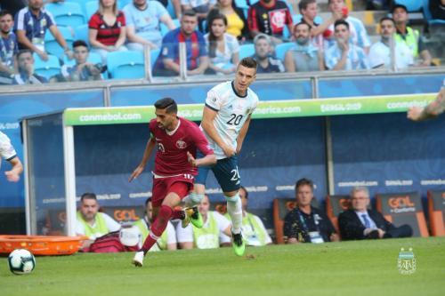Timnas Argentina melawan Qatar di matchday ketiga Grup B Copa America 2019
