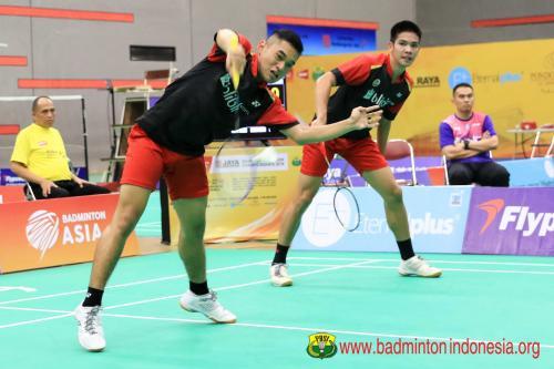 Leo/Daniel kalahkan wakil tuan rumah di final Malaysia Internasional Series 2019