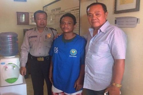 saudagar sapi, I Wayan Edik Ardika (34), ditangkap saat transaksi sabu (balipost)